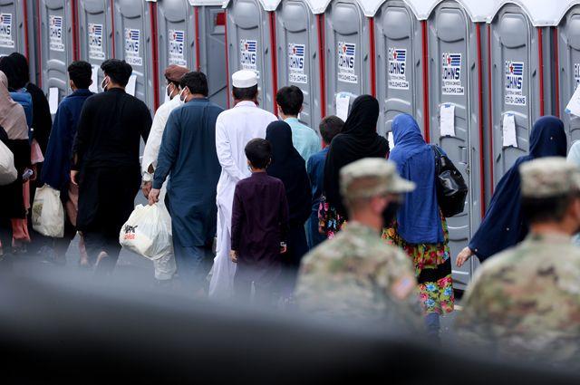 Беженцы из Афганистана.
