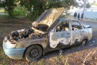 В Медногорске ранее судимый мужчина после ссоры сжег машину бывшей жены.