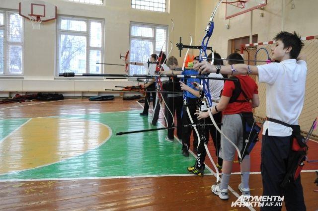 Отремонтируют спортзал, будет много кружков, и не только лучники.