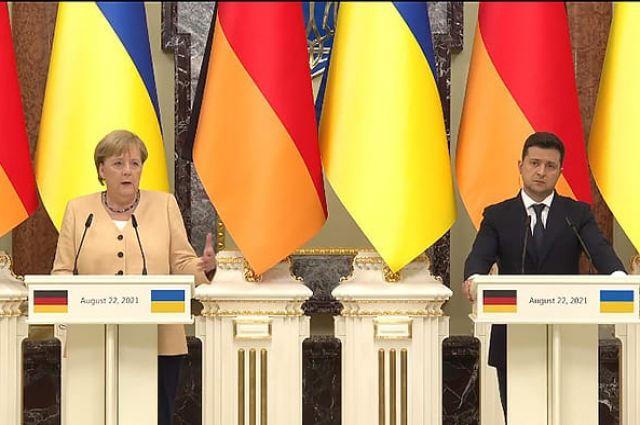 Как визит Меркель в Киев повлияет на встречу Зеленского и Байдена?