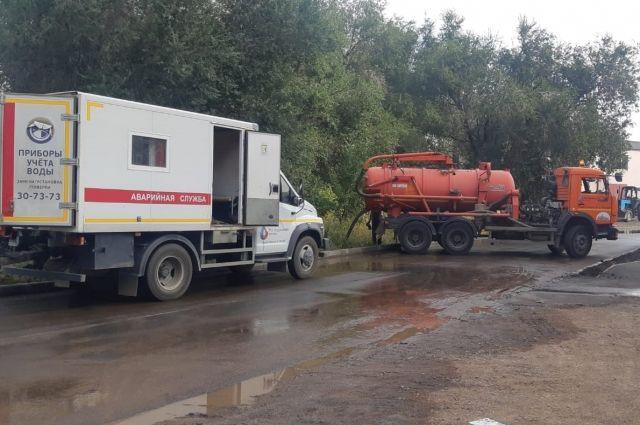 В Оренбурге полностью ликвидировали порыв на водоводе по переулку Дальнему.