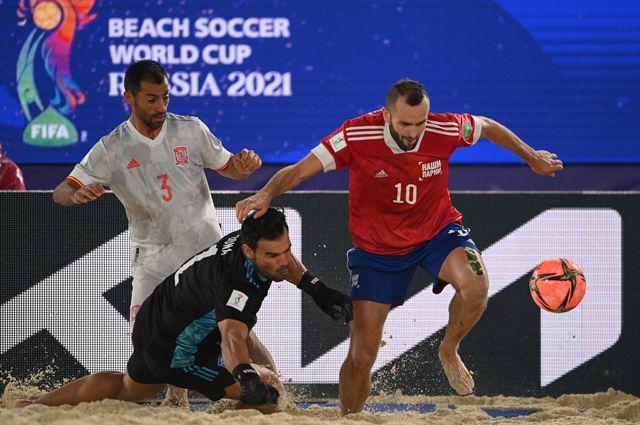 Испания пройдена, впереди  Швейцария. Россия в пляжке мчит к финалу