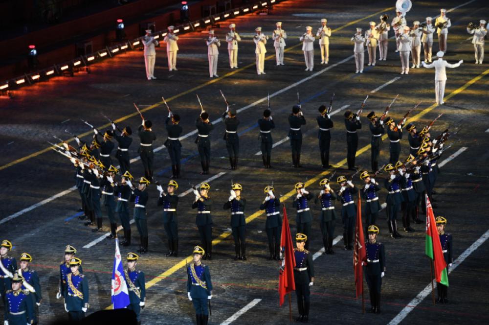 Рота специального караула Президентского полка Службы коменданта Московского Кремля Федеральной службы охраны РФ.