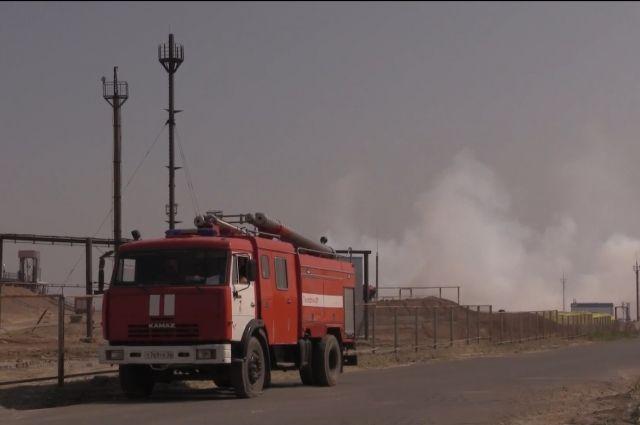 МЧС сообщило о ликвидации пожара у Газзавода в Оренбургском районе.