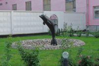 В Соль-Илецке Lada протаранила забор колонии «Черный дельфин».
