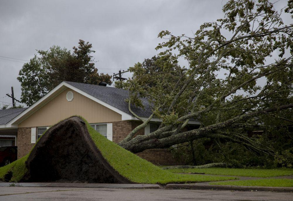 Последствия урагана «Ида» в Морган-Сити (штат Луизиана, США)
