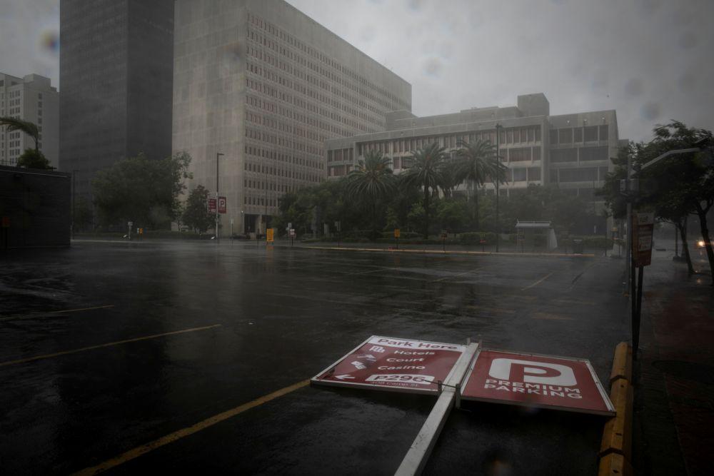 Комендантский час в штате Луизиана во время урагана «Ида»