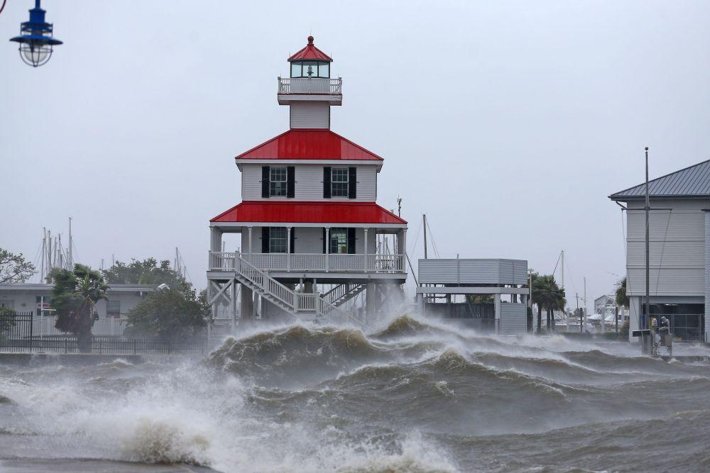 Ураган «Ида» в штате Луизиана