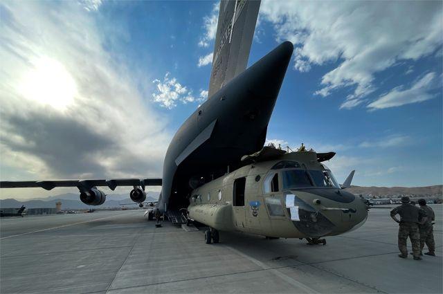 Эвакуация американских войск из Афганистана завершена.