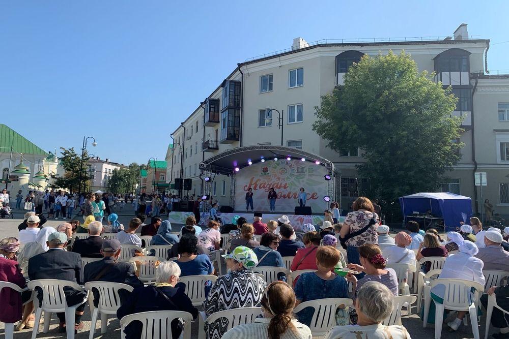 Международный фестиваль-конкурс народного песенно-танцевального искусства «Казан солгесе».