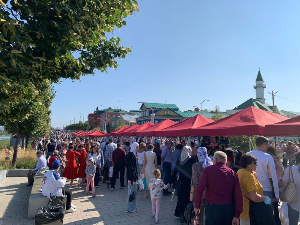Фестиваль «Печән базары» на Старо-Татарской Слободе.