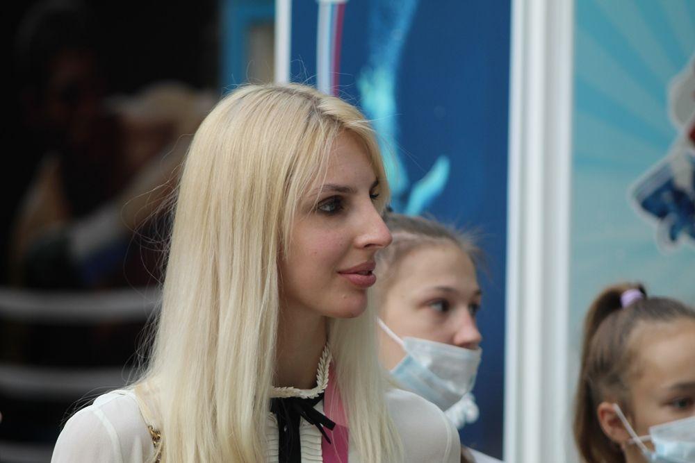Анастасия Близнюк - самая титулованная гимнастка.