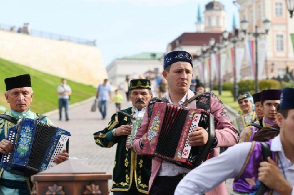 Tat Cult Fest прошел в Казанском Кремле.