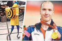 32-летний велогонщик Михаил Асташов. Зима 2020 г. – курьер. Лето 2021 г. – чемпион Паралимпийских игр.