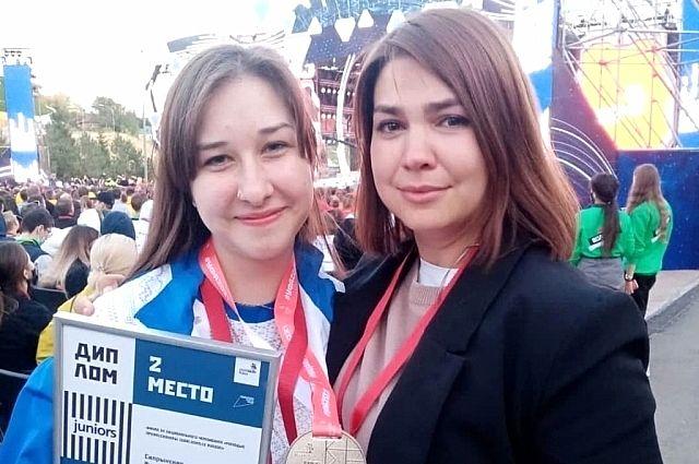 Оренбургская школьница завоевала серебряную медаль на чемпионате