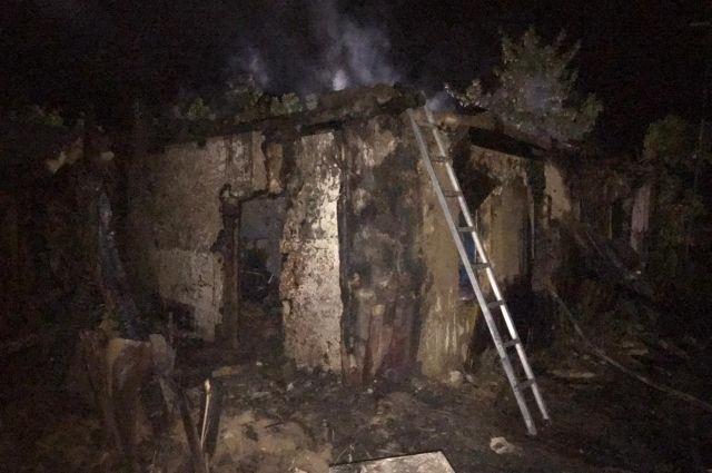 Ночной пожар в Илекском районе унес жизнь местной жительницы.