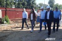 Мэр Омска Оксана Фадина проконтролировала благоустройство объектов Советского округа.