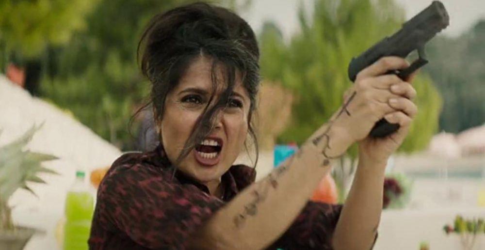 Сальма Хайек в роли Сони Кинкейд («Телохранитель жены киллера», 2020 год)