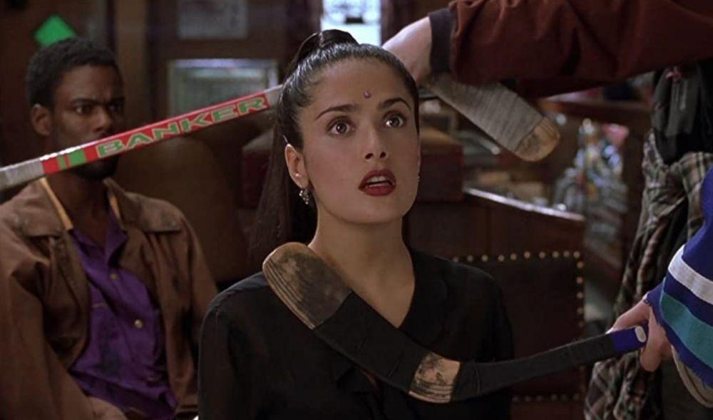 Сальма Хайек в роли Серендипити («Догма», 1999 год)
