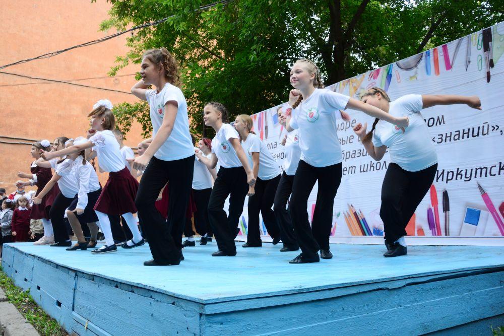 Как прошло 1 сентября в Иркутске
