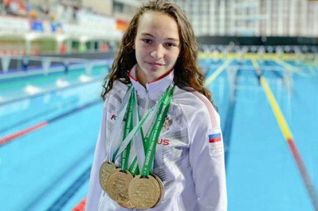 Орская пловчиха Виктория Ищиулова завоевала «золото» на Паралимпиаде в Токио.