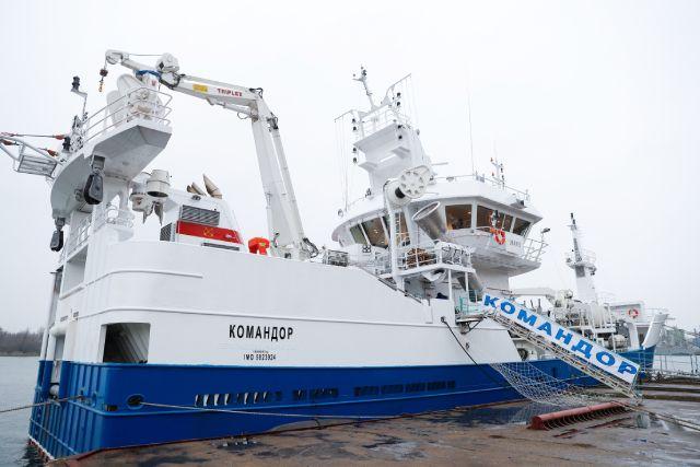 Развитие рыбного промысла. Сбер и РРПК подписали договор о сотрудничестве