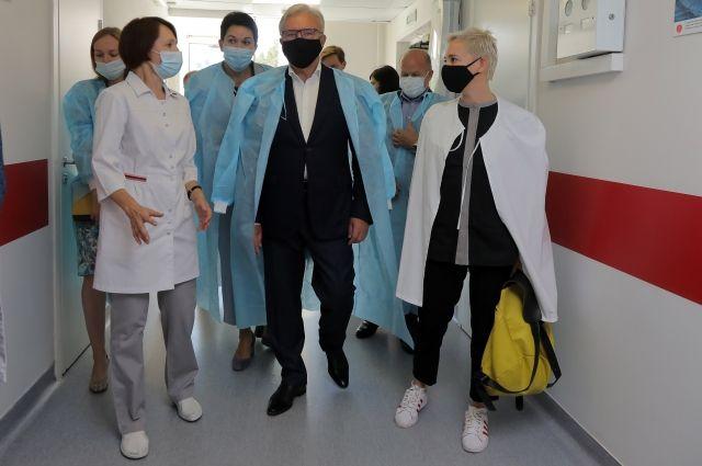 Центр детской трансплантологии появится в Красноярске в 2022 году.