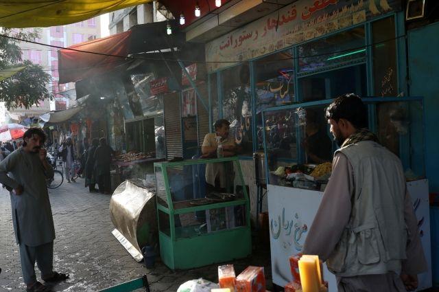 В Кабуле из магазинов стали пропадать продукты