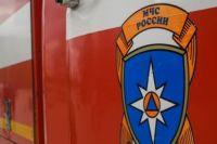 В Домбаровском районе утром сгорела машина.