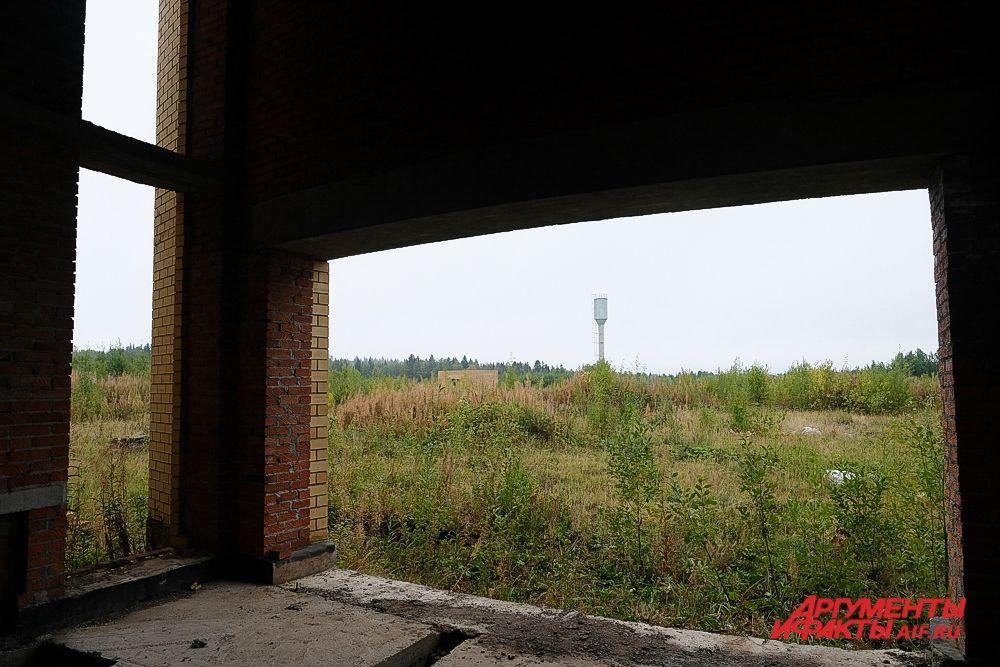 Недостроенный пермский крематорий: осень 2021.