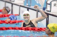 Вика Ищиулова: Победа!  Кажется, что прямо в бассейне у меня слёзы полились.