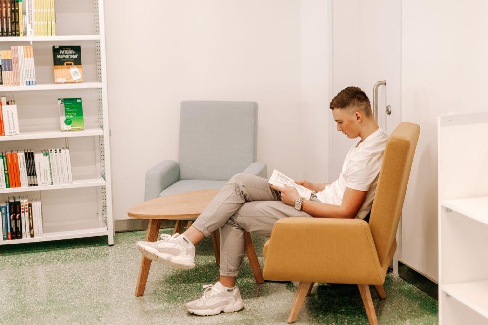 За основу библиотеки взяли аналог в Хельсинки.