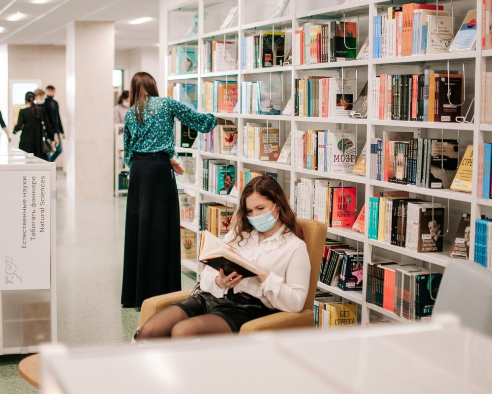 73% посещающих Национальную библиотеку РТ - женщины, которые интересуются психологией и саморазвитием, любят читать художественную литературу.