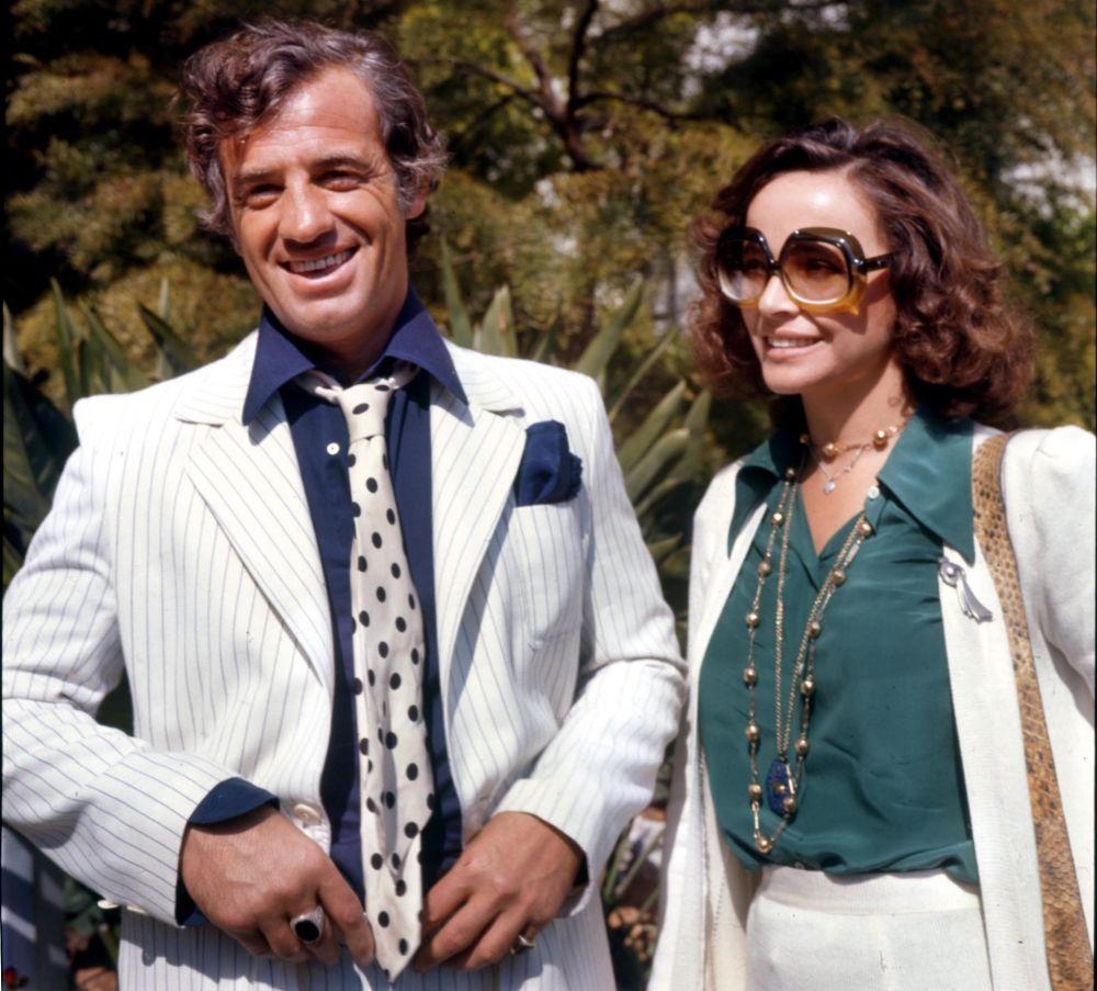 После Андресс Бельмондо встречался с итальянской актрисой Лаурой Антонелли с 1972 по 1980