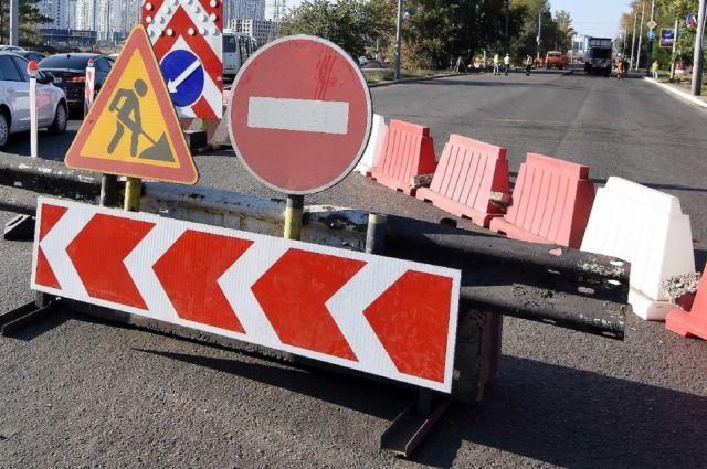 Ремонт дороги на улице Степана Разина в Оренбурге будет завершен до конца сентября.
