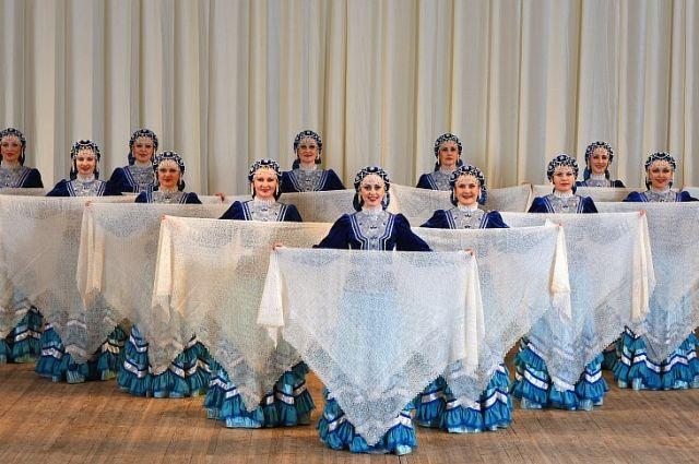 Оренбургский государственный академический русский народный хор принял участие в шоу