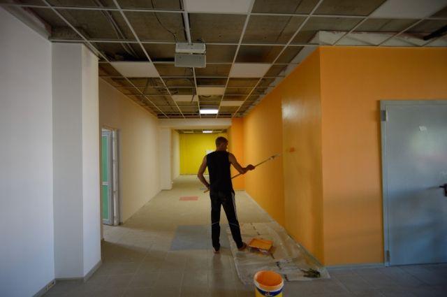 В Оренбурге строительство детских садов по нацпроекту ведется с нарушением графиков.