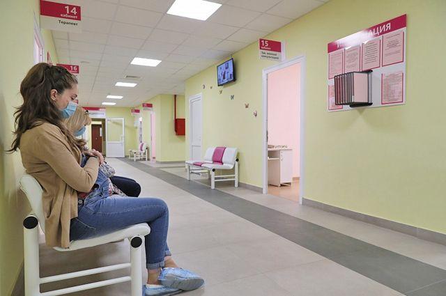 В центре для будущих мам в больнице им. Фишера в Волжском все ремонтные работы уже завершены.