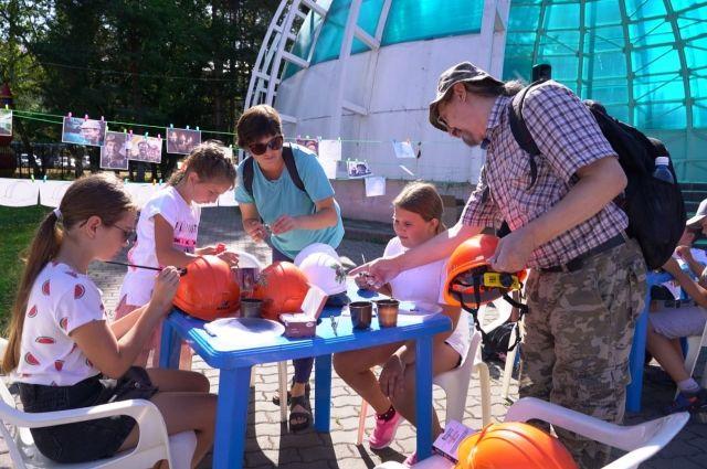 В Междуреченске прошёл первый фестиваль шахтёрской каски.