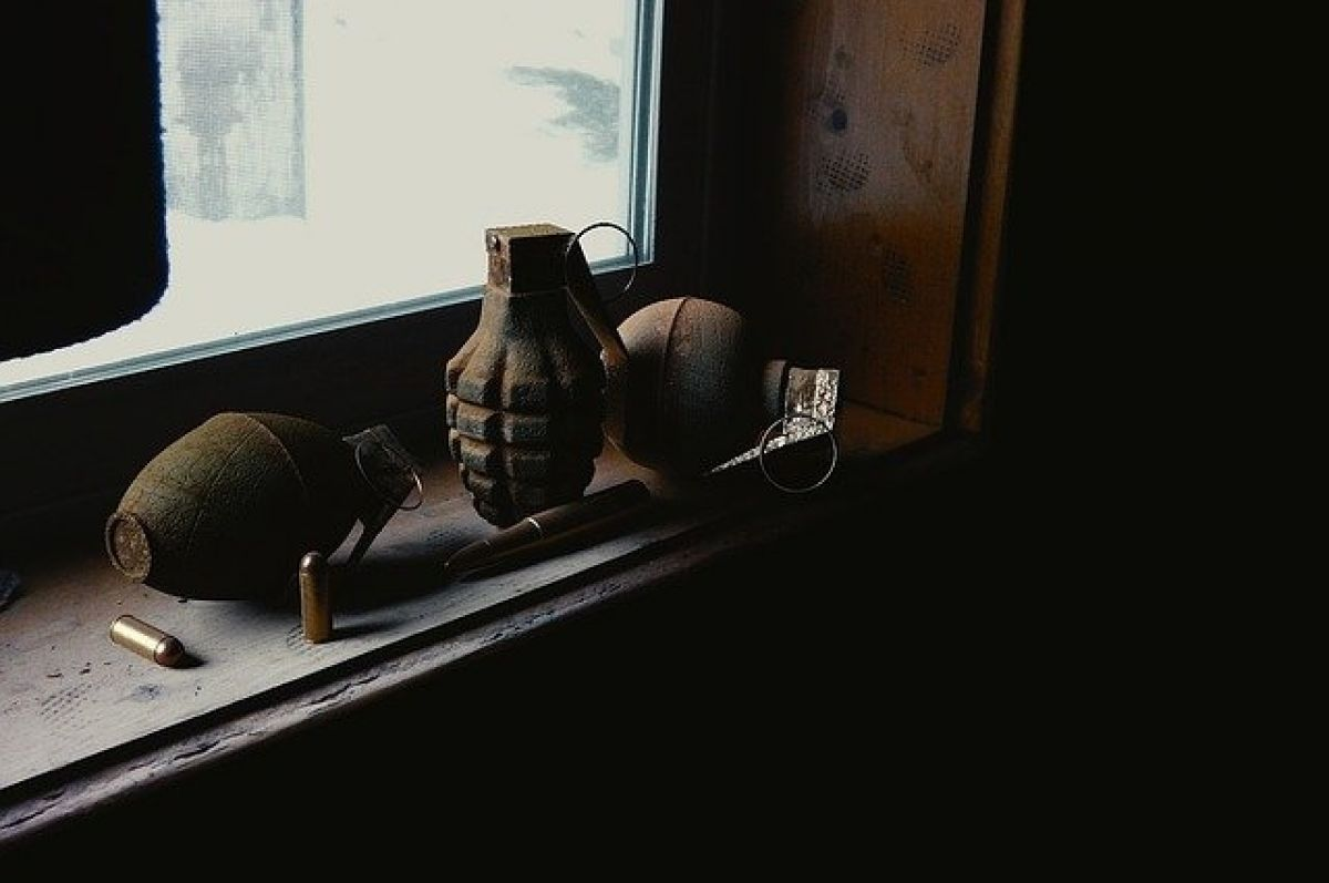 На Медногорской свалке обнаружена боевая граната