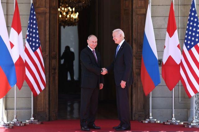 Встреча Путина и Байдена может пройти в октябре  СМИ