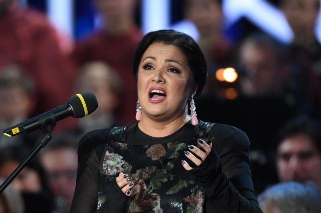 Оперная певица Анна Нетребко.
