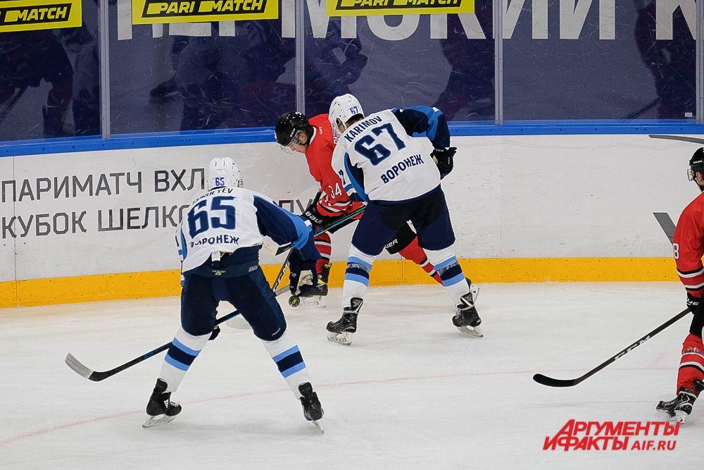 Домашний матч «Молот» - «Буран» в Перми.