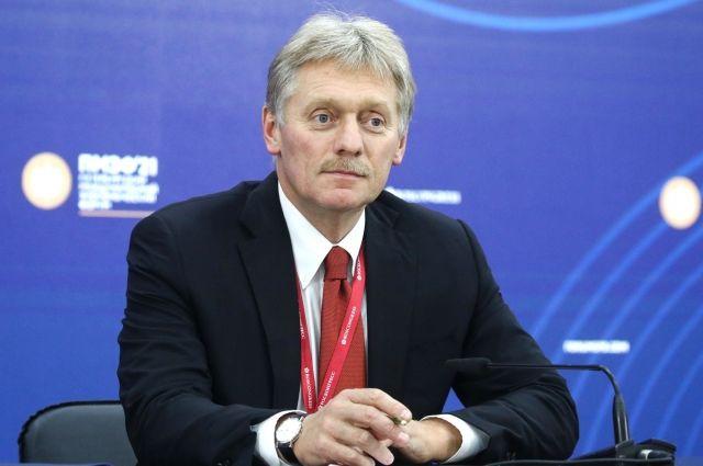 Песков прокомментировал информацию об организации встречи Путина и Байдена