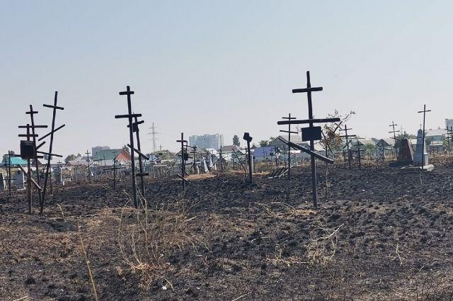 Администрация Оренбурга будет должна решить вопрос о выделении земли под кладбище.