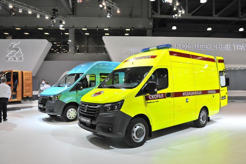 Новые модификации семейства «GAZelle NN», в том числе – автомобиль скорой помощи с пневмоподвеской и односкатной ошиновкой задних колес