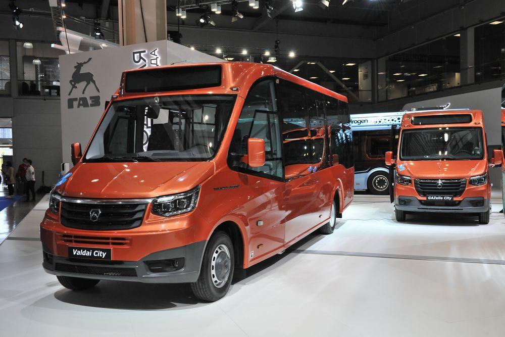 Автобус «Валдай City» с низким уровнем пола вместимостью 32 пассажира