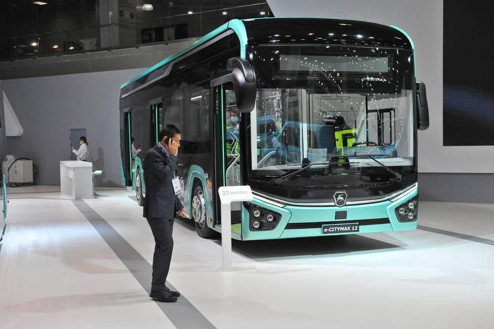 Электрический городской автобус нового поколения E-CITYMAX 12
