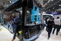 Автобус наводородном топливе, представленный «Группой ГАЗ», на16-й международной выставке коммерческих автомобилей Comtrans вМВЦ «Крокус Экспо».