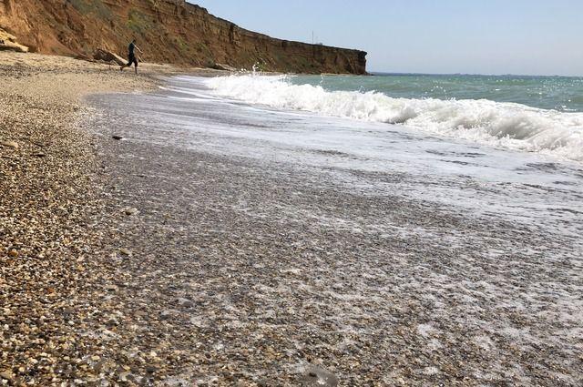 Потенциально небезопасных диких пляжей, на которых есть риски обвалов, в Крыму довольно много